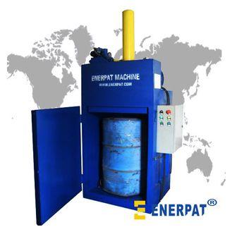 供应dc-30液压油桶压扁机
