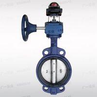 广一水泵厂,GYXFDF371X-10、16(Q)对夹式信号蝶阀