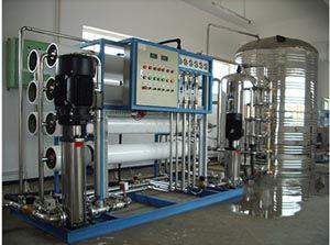 高纯水制取设备l纯净水生产设备l反渗透净水设备