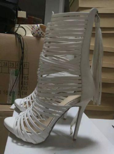 时尚杂志潮流款外贸高跟鞋批发订做