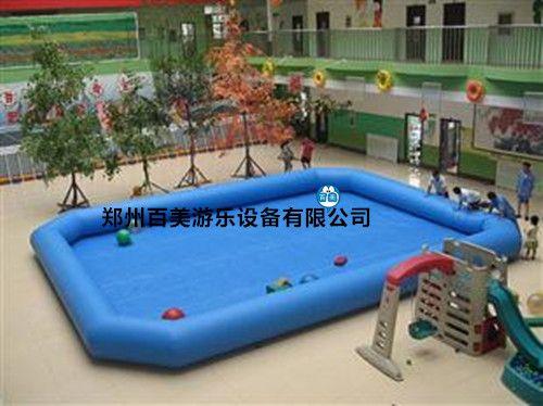 室外大型儿童气垫游泳池,充气水池定做批发