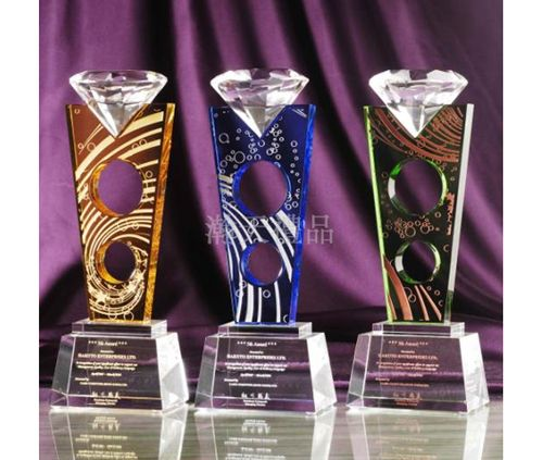西安礼品公司——水晶奖杯