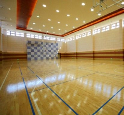 济南篮球场地专用PVC枫木纹运动地板、运动地胶、篮球地板