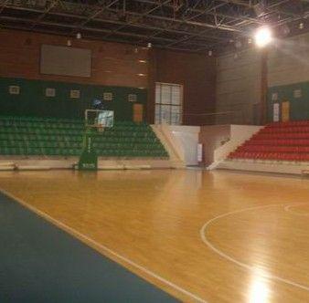 济南室内枫木纹篮球场专用pvc环保地胶报价