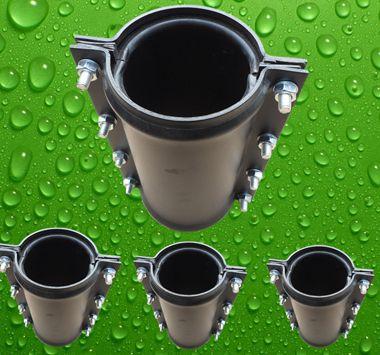 塑料哈夫节pvc给水管哈夫节