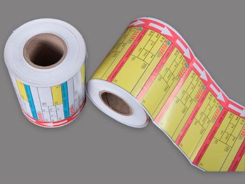 天津标签纸定做印刷