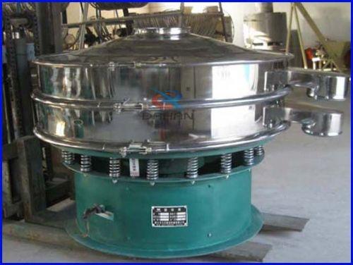 1层玉米淀粉振动筛分机筛分设备