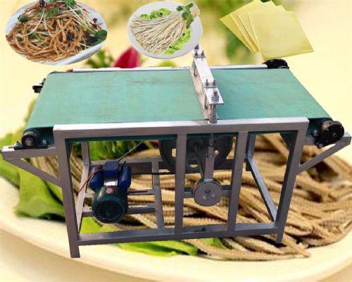 厂家供应全自动豆腐皮切丝机