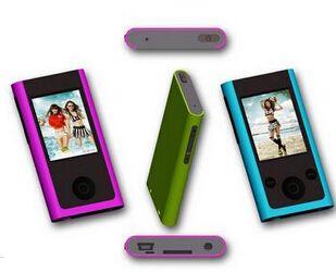 1.8寸MP4高清屏 插卡录音MP4+收音 音乐播放器喇叭