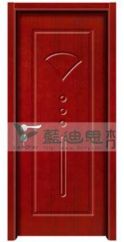 信阳大型商场旋转门,金丝柚饰面实木门 河南方格现代门