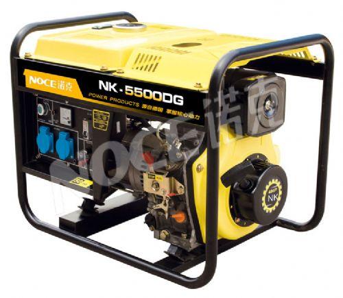 诺克5kw单三相柴油发电机组NK-5500DG