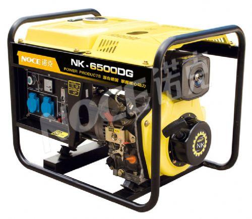 NK-6500DG诺克电启动柴油发电机6kw