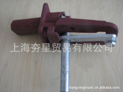 上海夯星车辆配件厂家直销福建半挂车集装箱角件铸钢旋转锁头