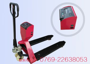 肇庆防水电子叉车秤,xk3190型接打印机电子叉车秤