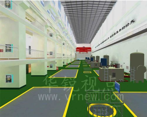 华锐视点-工业仿真虚拟现实解决方案