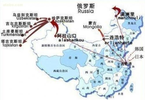 青岛到兰州铁路路线图