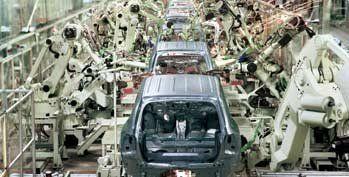 进口二手汽车生产线在天津港通关流程和通关手续