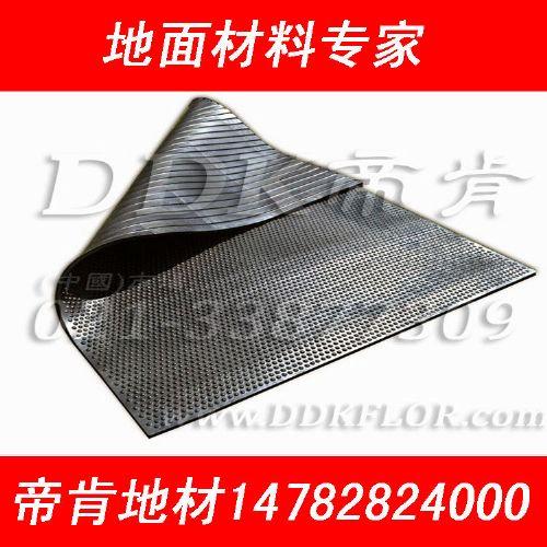 铜钱纹pvc塑料地板,耐磨塑料地板,可拆装防砸工业塑料地板