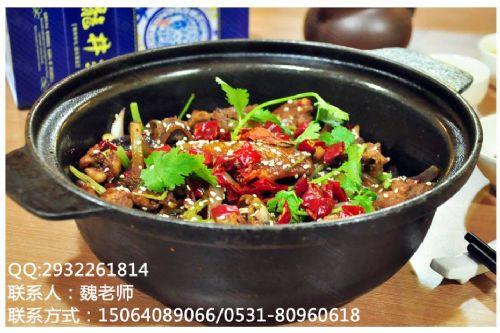 重庆鸡公堡技术培训做法指导济南香香姐小吃培训