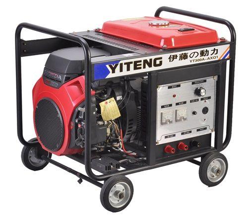 350A汽油发电电焊一体机