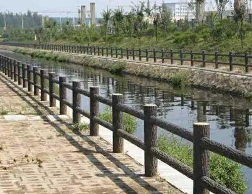 仿木桥栏杆