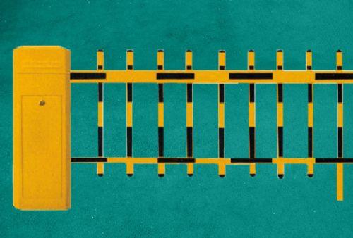 小区入口一进一出安防二栏栅栏智能道闸 交通安全收费系统