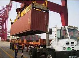 广州进出口货运公司,黄埔港码头集装箱拖车行