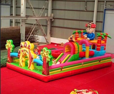 新款蹦蹦床 亲子嘉年华活动充气城堡 儿童娱乐气垫床