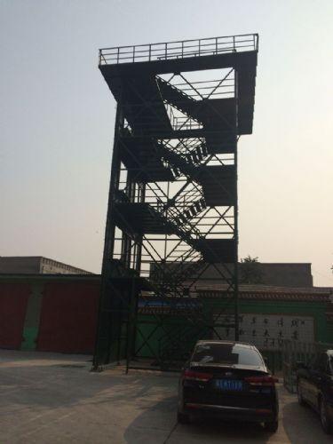 d烟囱顶上避雷塔采用直径25mm镀锌圆钢或直径为40mm