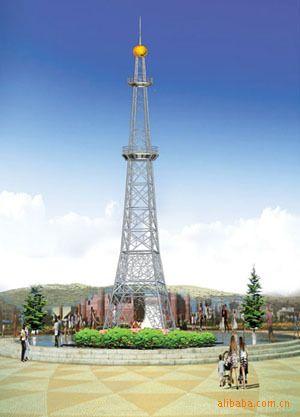 吉林专业生产通信塔避雷塔楼顶装饰塔广播电视塔消防