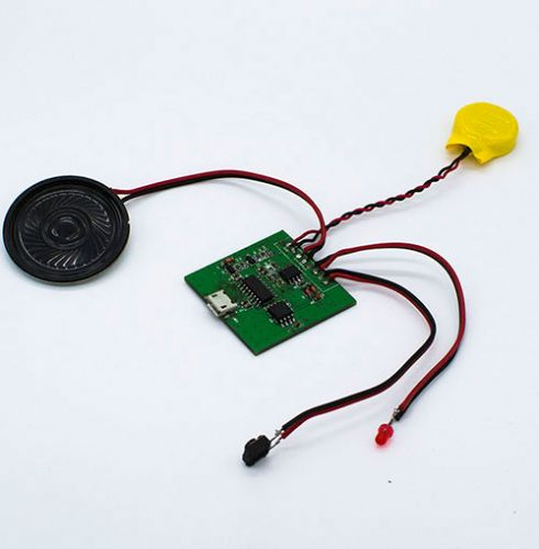 包装礼品盒发声机芯 影控音乐盒 USB下载语音影控语音盒