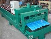 各型加宽圆弧琉璃瓦压瓦机/信顺压瓦机厂板型标准