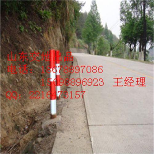 青岛道口警示柱,黄岛公路道口桩15098896923
