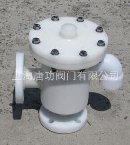 唐功TGWX3-PP带吸入接管呼吸阀 盐酸罐专用塑料PP呼吸阀