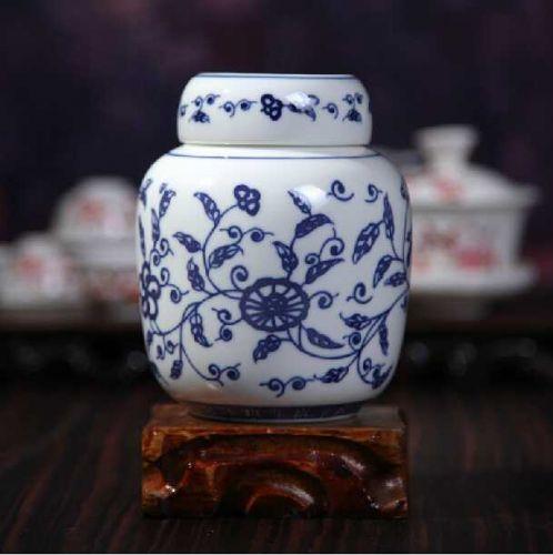 红茶陶瓷茶叶罐