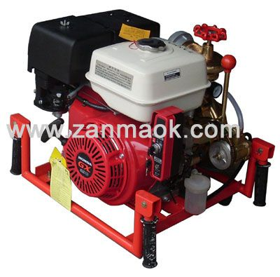 上海赞马4寸本田GX390汽油手抬式高扬程串接防汛泵,污水泵,排