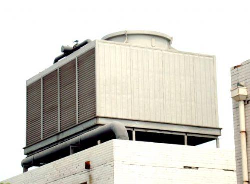 gfnl系列钢结构方形逆流式玻璃钢冷却塔应用了我院二项国家专利