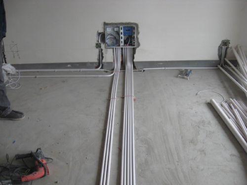 写字楼办公室配电线路设计和配电施工