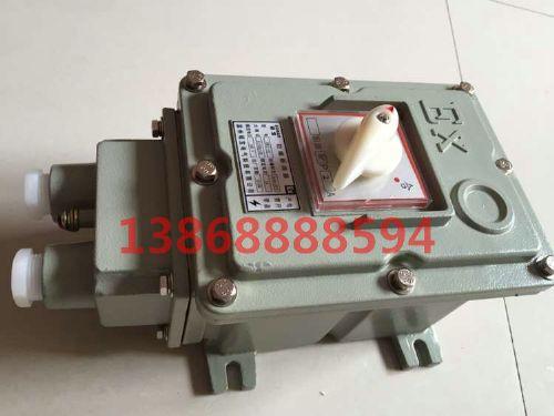 BDZ52防爆断路器 20A/2P铸铝防爆断路器价格