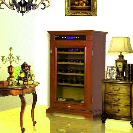 冰箱加小酒柜效果图