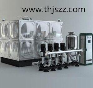 二次加压供水系统厂家,不锈钢生活水箱用在二次供水