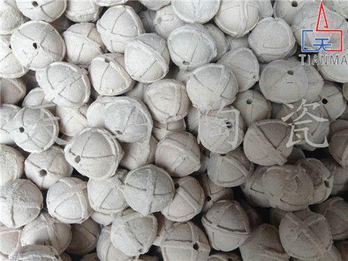 山东陶瓷开孔球