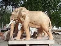 石雕大象厂家定做