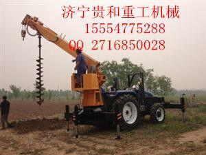拖拉机打桩机,小型拖拉机打桩机, 拖拉机打桩机价格