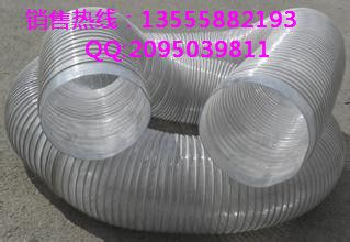 辽宁沈阳厂家现货供应透明钢丝软管 钢丝透明管 PVC钢丝管