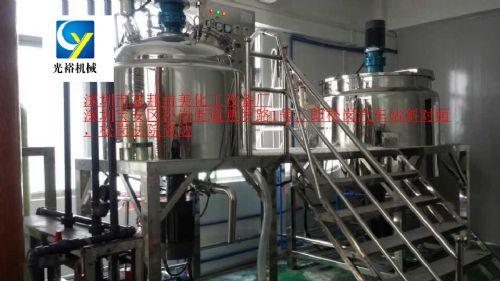 小型的洗衣液加工生产设备