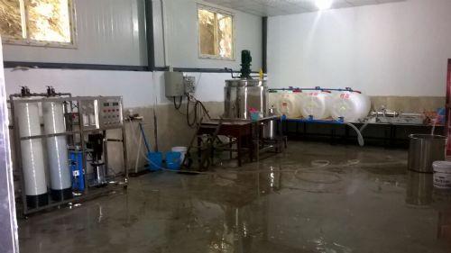 小型生产洗衣液的设备几千元