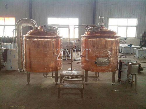 300升啤酒饮料生产设备 葡萄酒果酒设备