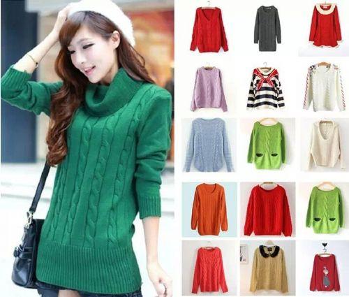 时尚便宜毛衣批发厂家直销最便宜的毛衣女式毛衣批发