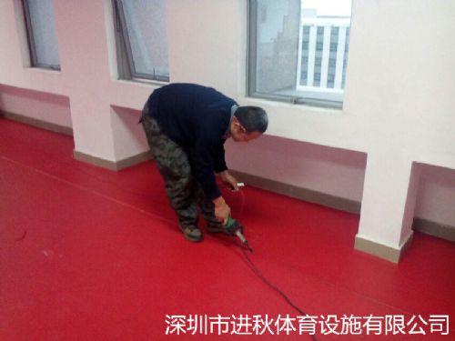 塑料地板乒乓球场地pvc卷材塑胶运动地板胶